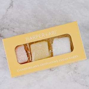 Small Box Sugar Cube Bath Scrub
