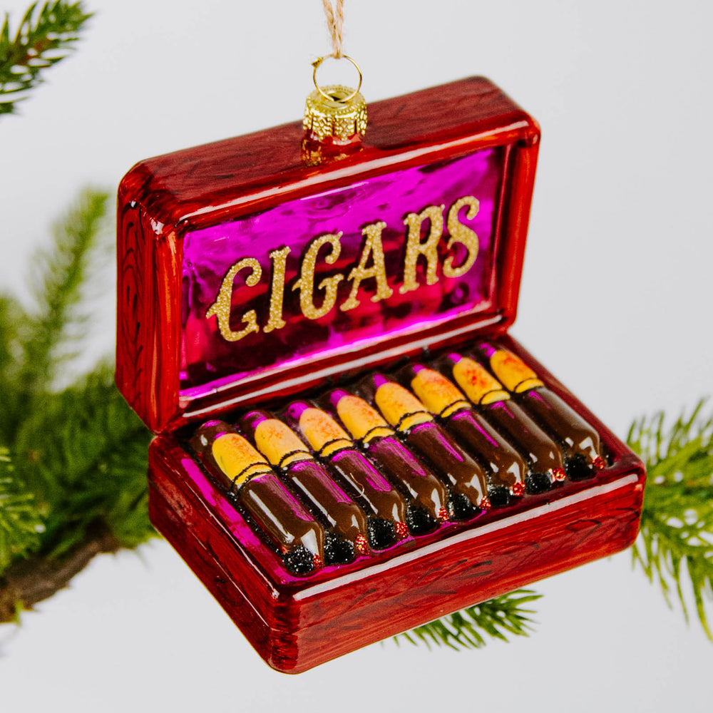 Load image into Gallery viewer, Box of Cigars Ornament