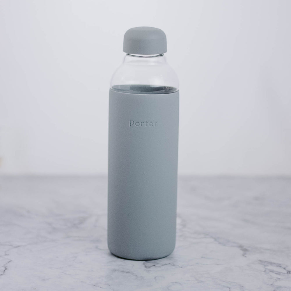 Load image into Gallery viewer, Glass Water Bottle