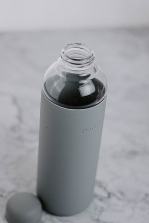 Glass Water Bottle