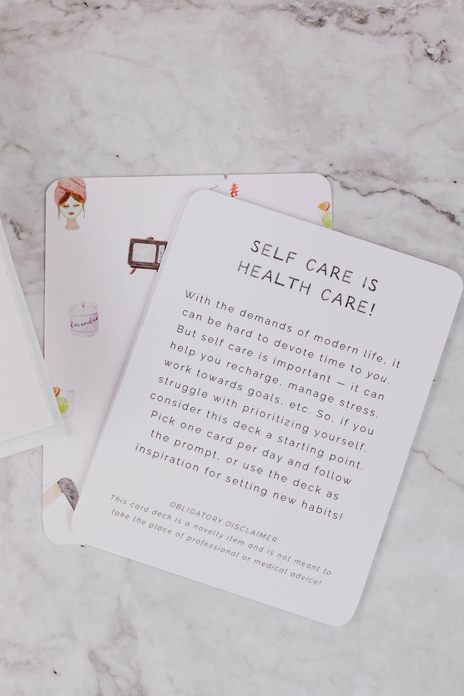 Daily Dose of Self Care Cards