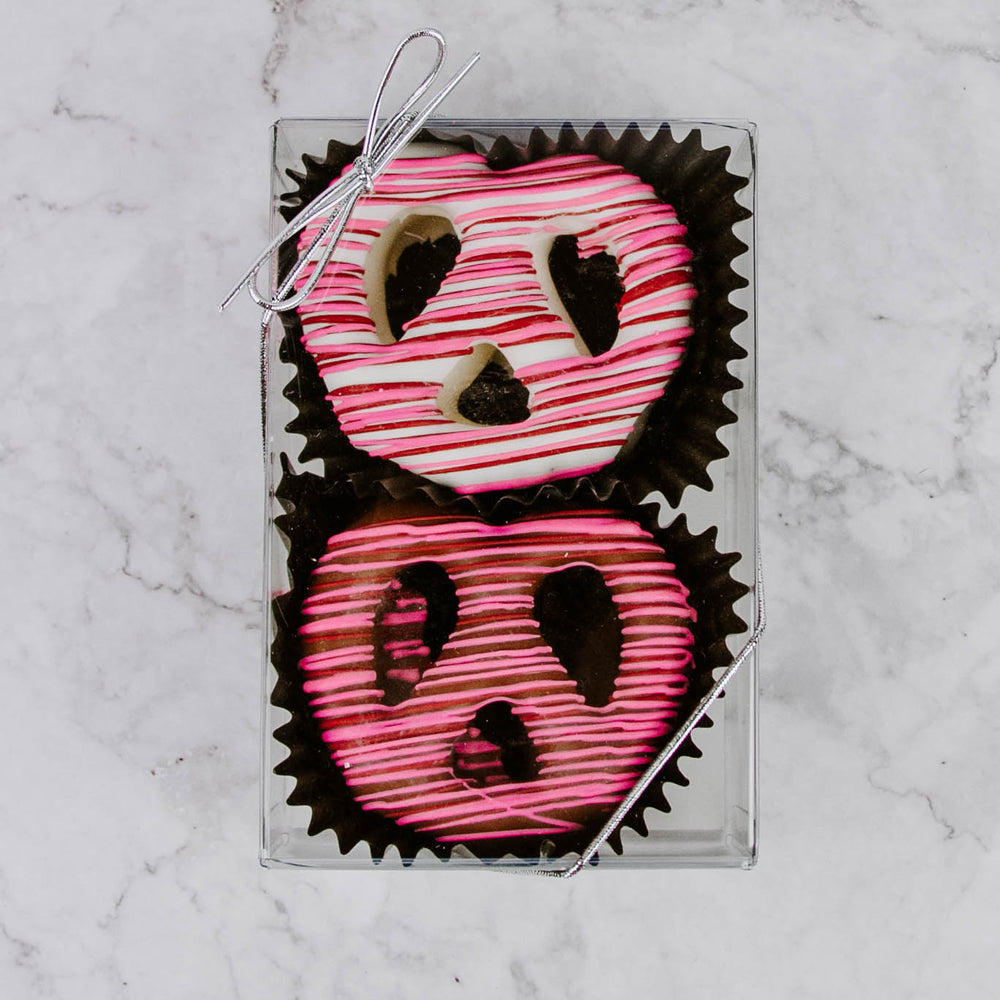 Load image into Gallery viewer, Valentine's Chocolate Covered Pretzels