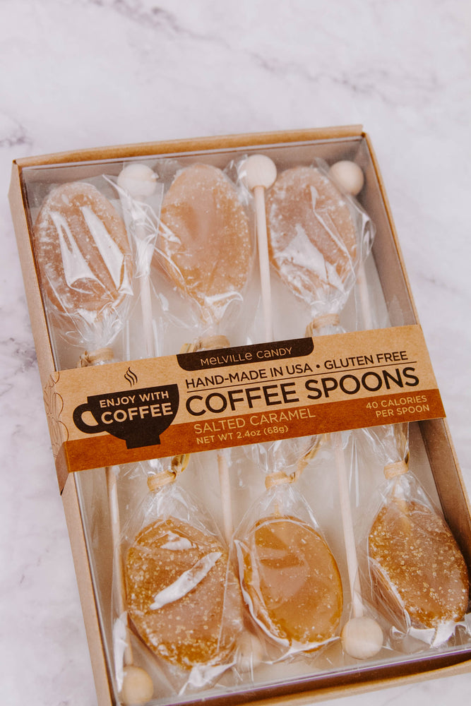 Salted Caramel Coffee Spoons