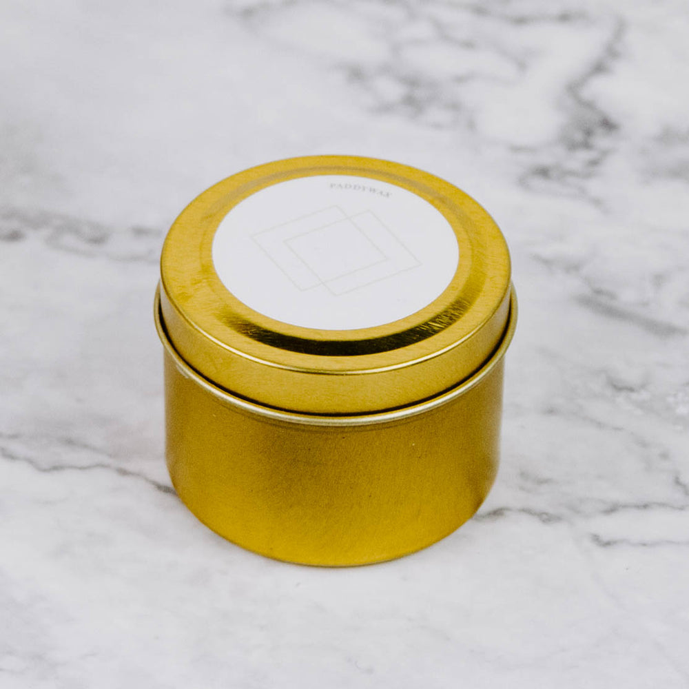 Load image into Gallery viewer, Mini Gold Tin Candle