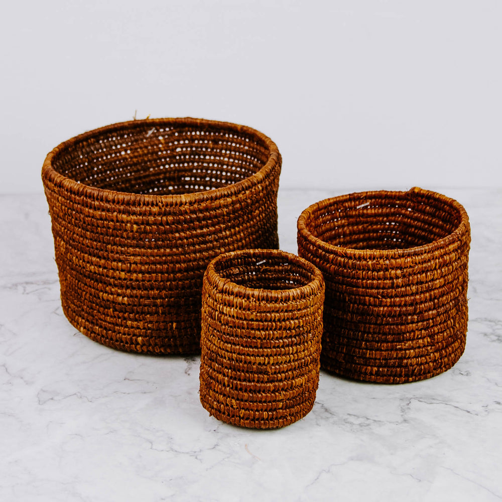 Brown Storage Baskets