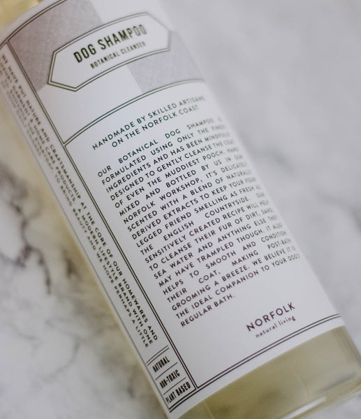 Natural Living Dog Shampoo