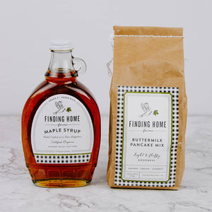 Load image into Gallery viewer, Buttermilk Pancake Mix & Syrup Gift Set