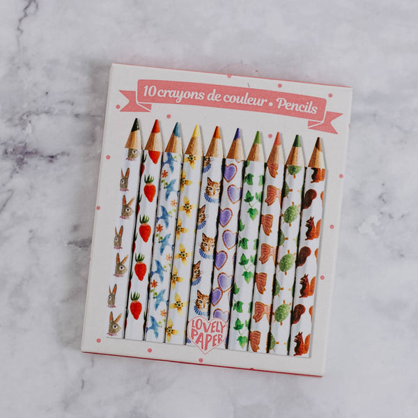 Glitter Marker & Colored Pencil Sets