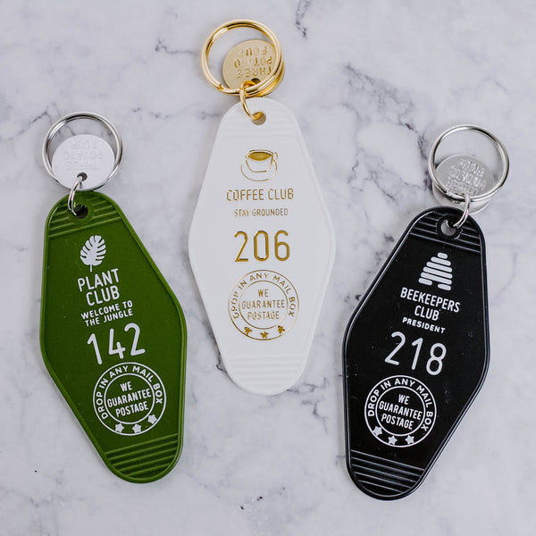 Retro Club Keychain