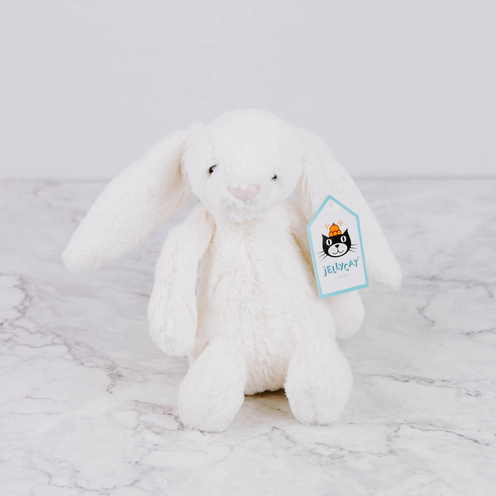 Load image into Gallery viewer, Cream Small Plush Bunny