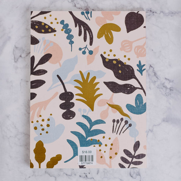 Pink Plant Notebook