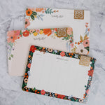 Floral Weekly List Notepad