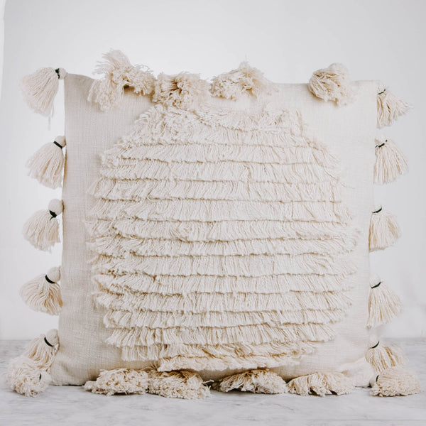 Cream Horizon Pillow