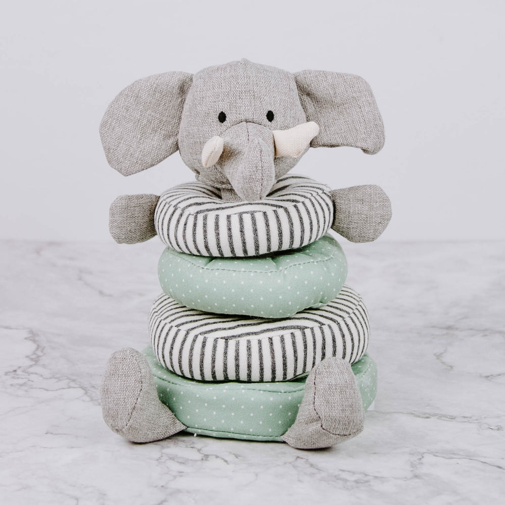 Load image into Gallery viewer, Plush Elephant Stacker