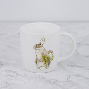 Load image into Gallery viewer, Illustrated Bunny Mug