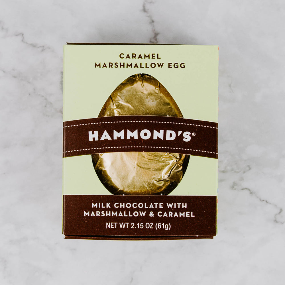 Caramel Chocolate Marshmallow Egg