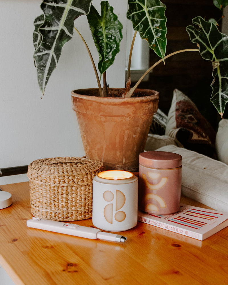 New Horizon Ceramic Candle