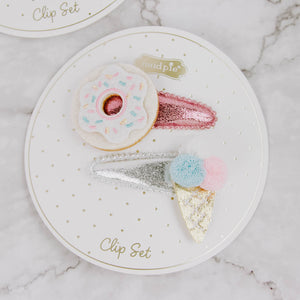Sparkly Hair Clip Sets