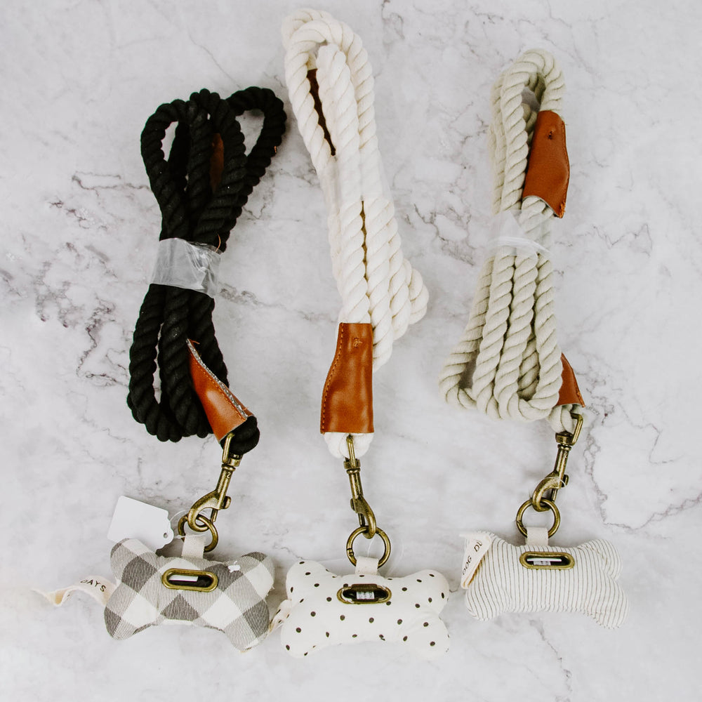 Doggy Bag & Leash Set