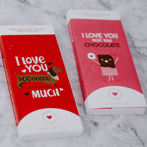Chocolate Bar Valentine Card