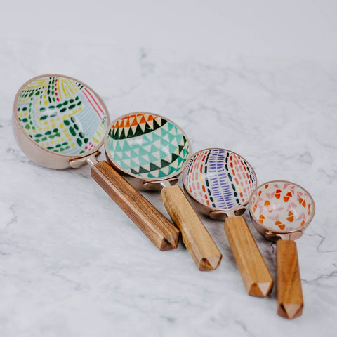 Bohemian Measuring Cups