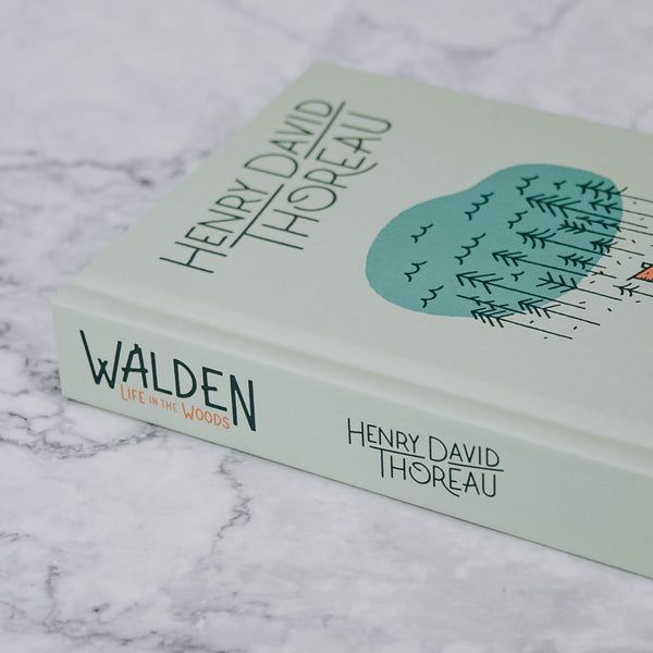 Walden Life in the Woods Book