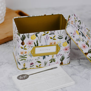 Herb Recipe Box