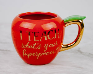 Load image into Gallery viewer, Apple Teacher Mug