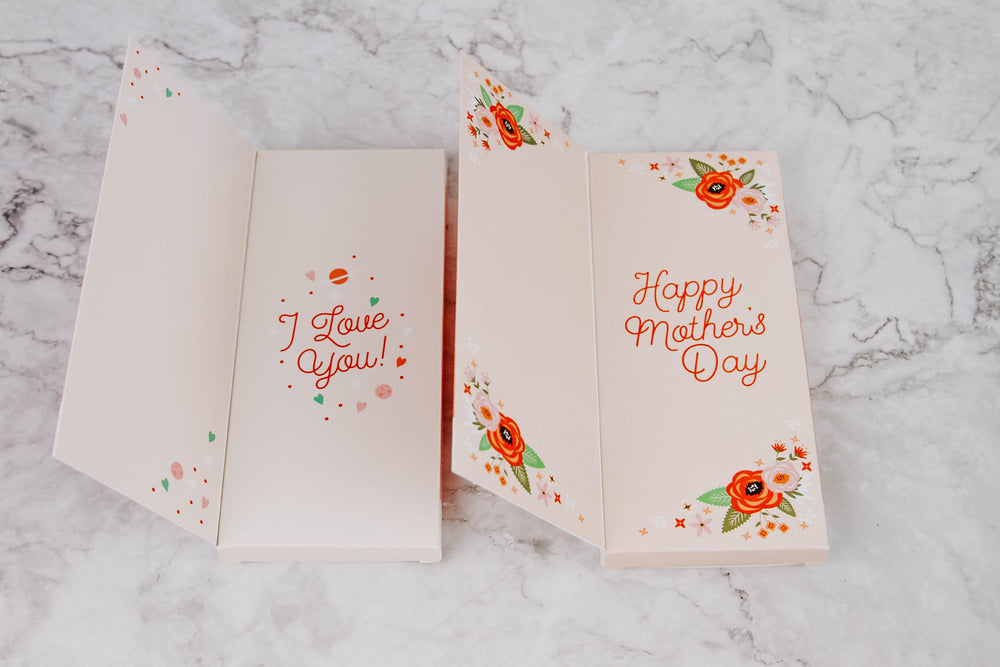 Chocolate Bar Mother's Day Card