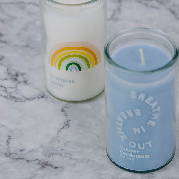 Breathe In Breathe Out Candle