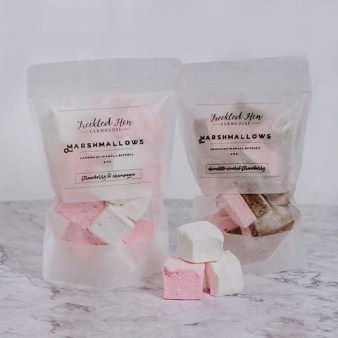Handcrafted Valentine Marshmallows