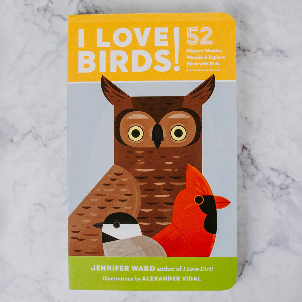 I Love Birds Book