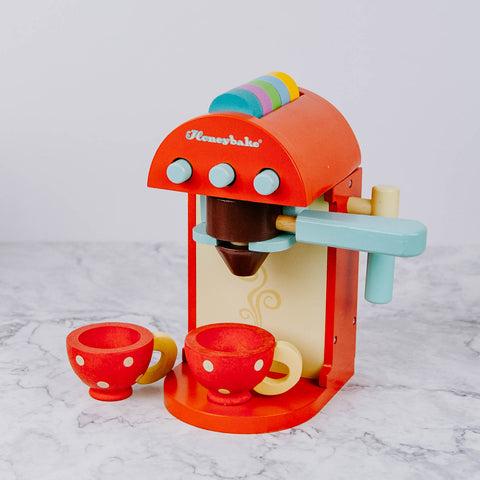 Kid's Wooden Cafe Machine