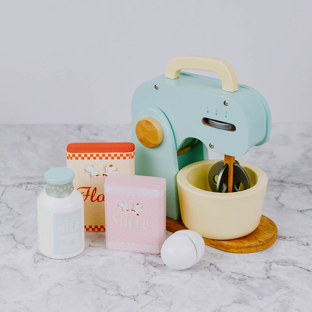 Kid's Wooden Mixer Set