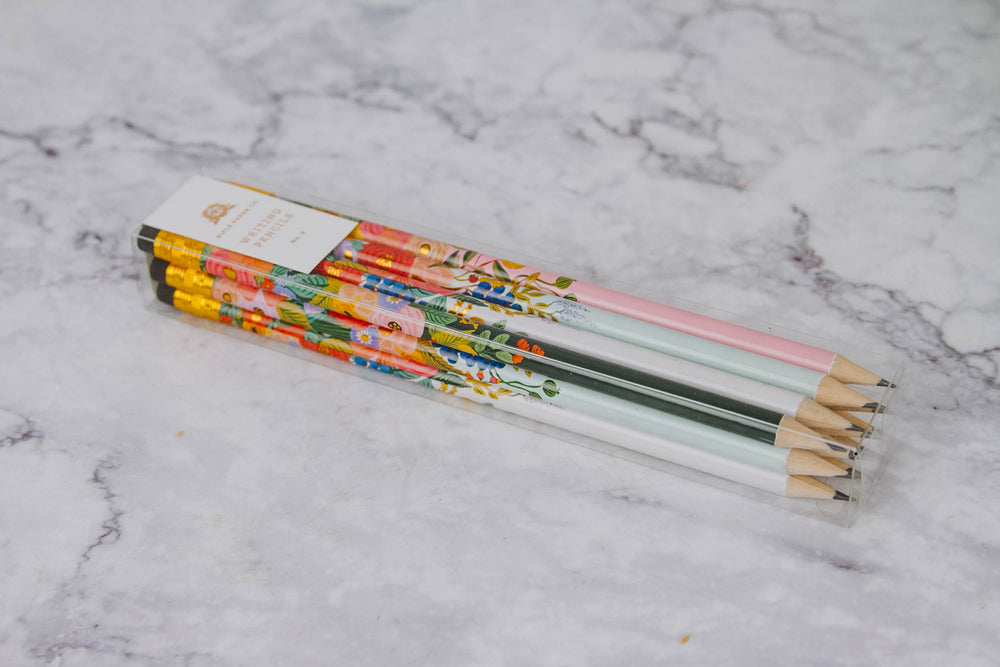 Load image into Gallery viewer, Floral Pencils