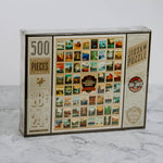 National Parks Postcard Puzzle