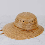 Woven Garden Hat - Laurel Lattice