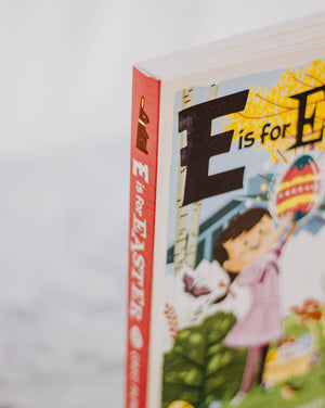E is for Easter Book