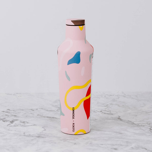 Pink Abstract Tumbler & Canteen