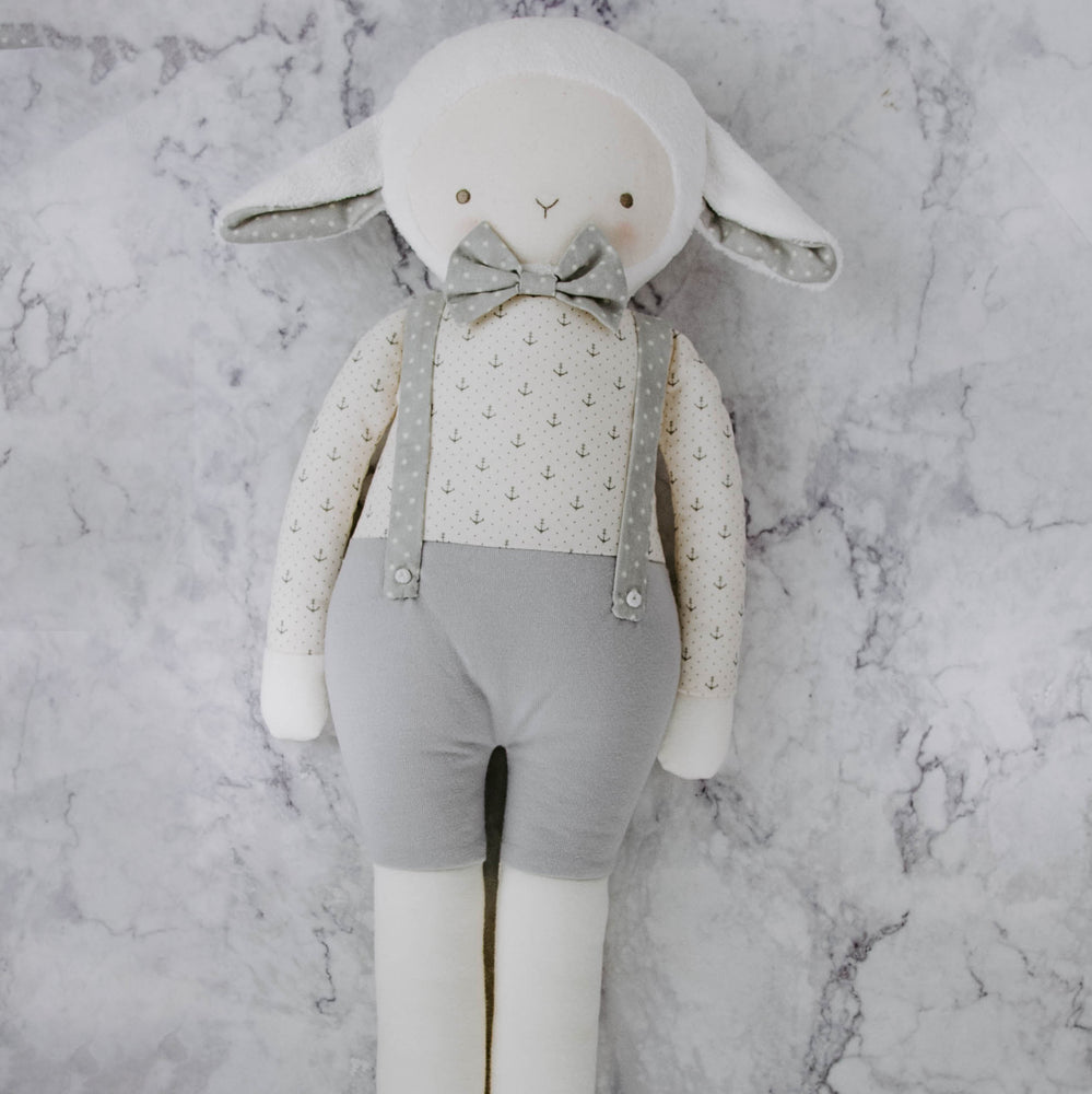 Load image into Gallery viewer, Plush Lamb Friends