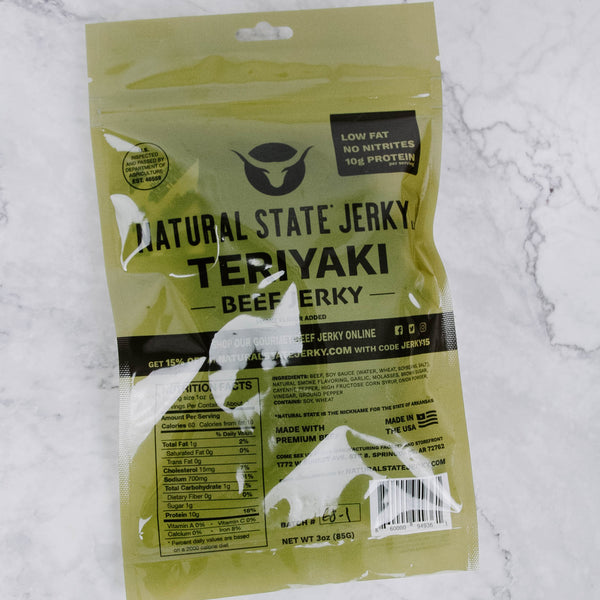 Natural State Beef Jerky
