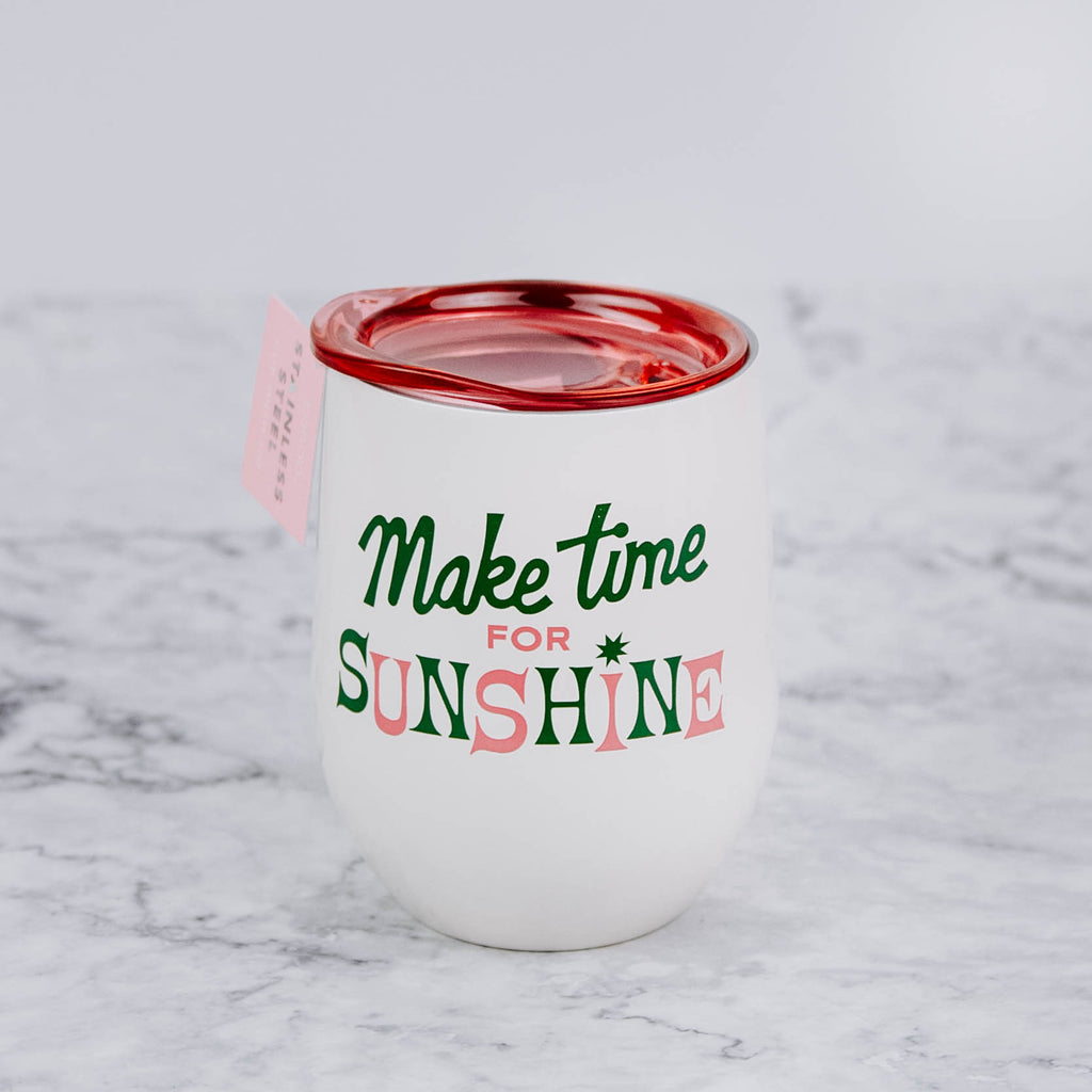 Make Time for Sunshine Tumblers