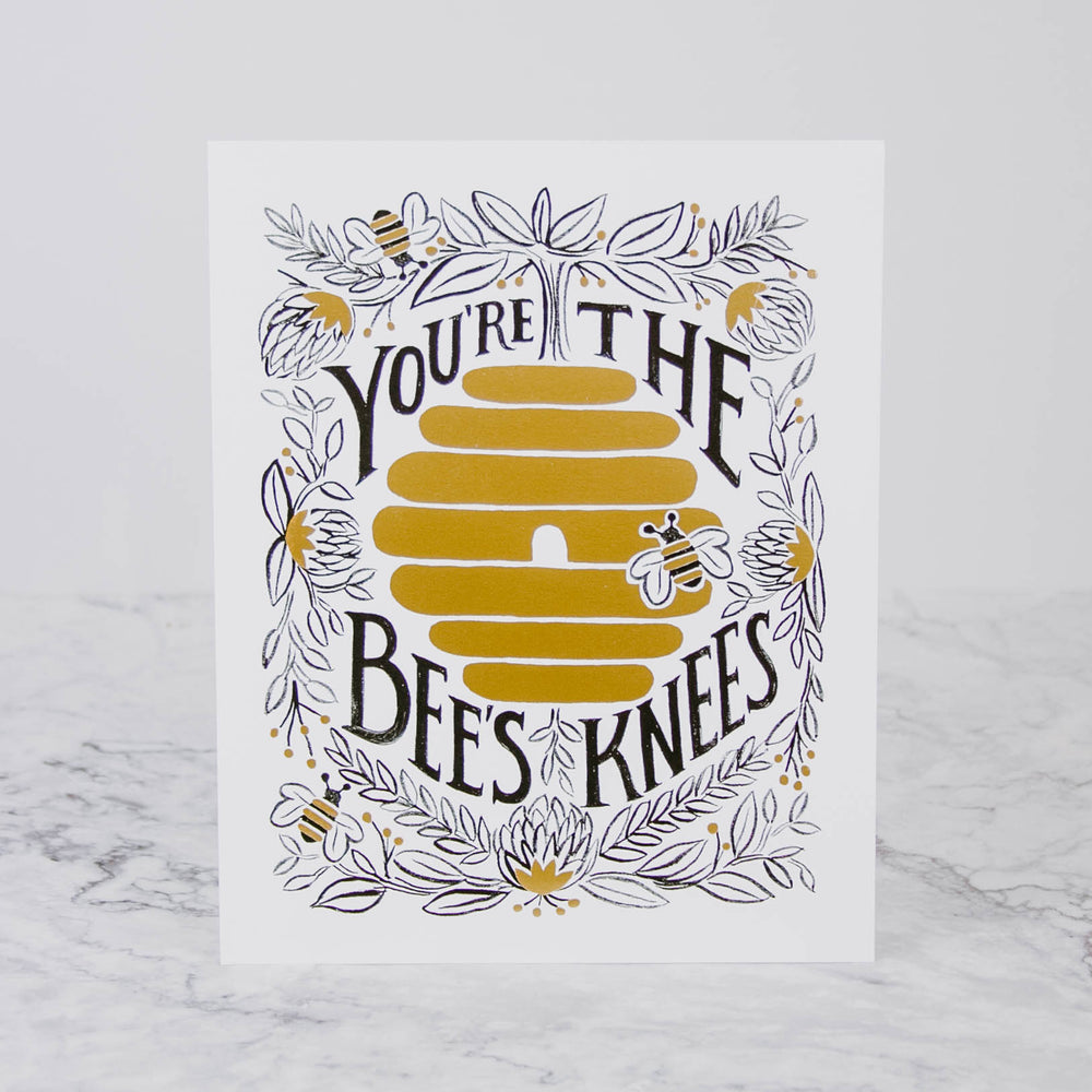Bee's Knees 8x10 Art Print