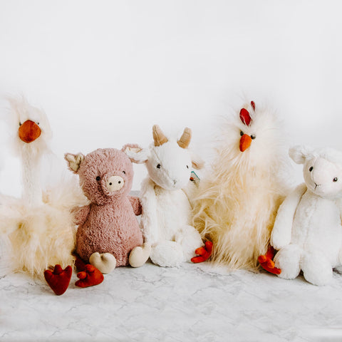 Plush Farm Animals