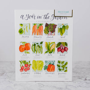 A Year In The Garden Planting Calendar