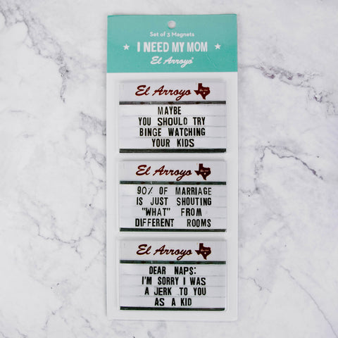 Marquee Sign Magnet Set
