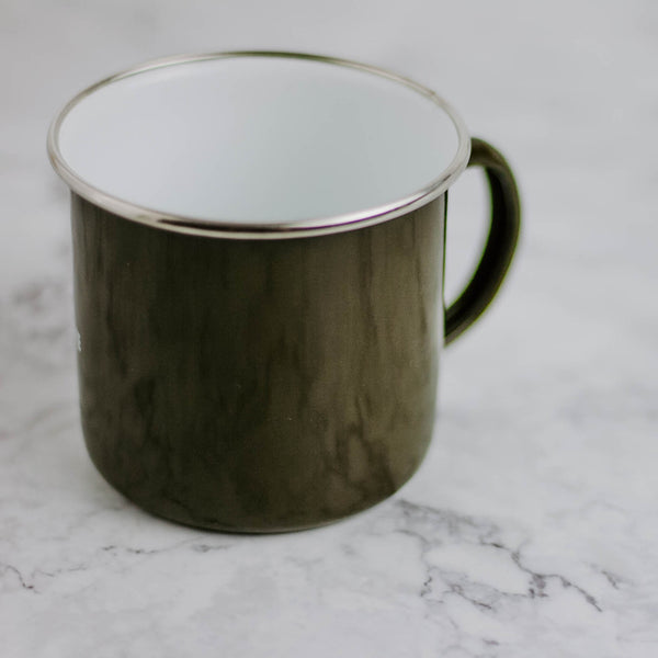 Pledge Enamelware Mug