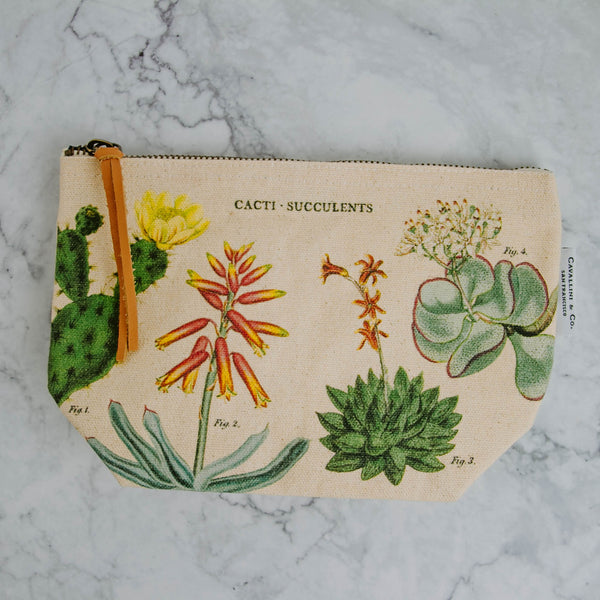 Vintage-Inspired Pouch