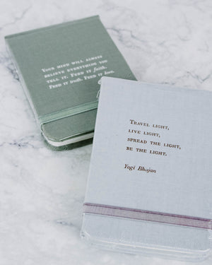 Fabric Quote Notebooks