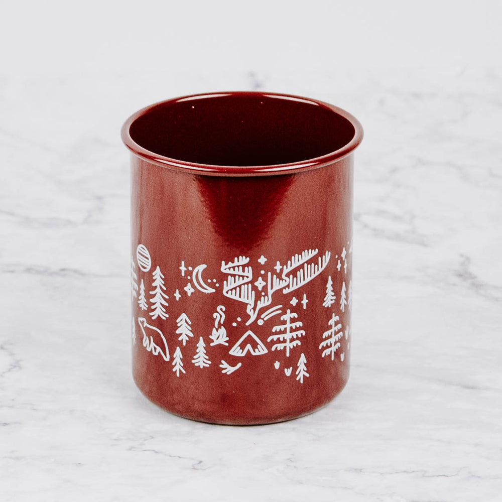 Load image into Gallery viewer, Enamelware Pencil Cup